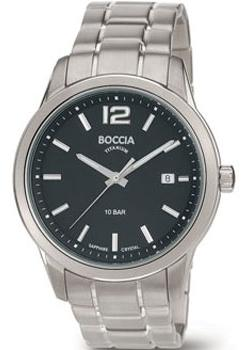 Boccia Часы Boccia 3581-01. Коллекция Titanium boccia titanium 3142 01 boccia titanium