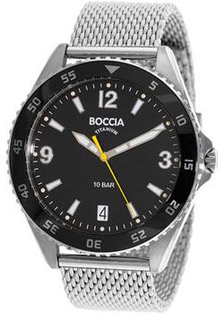 Boccia Часы Boccia 3599-01. Коллекция Titanium boccia bcc 3572 01