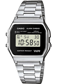 Casio Часы Casio A-158WEA-1E. Коллекция Digital часы casio collection a 158wea 1e grey