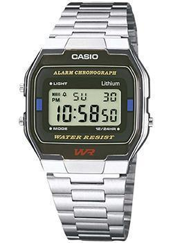 Casio Часы Casio A-163WA-1. Коллекция Digital casio a 163wa 1 casio
