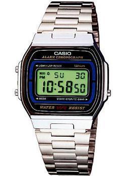 Casio Часы Casio A-164WA-1. Коллекция Digital часы casio casio ca077dubeze7