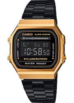 Casio Часы Casio A-168WEGB-1B. Коллекция Digital casio часы casio sgw 600h 1b коллекция digital