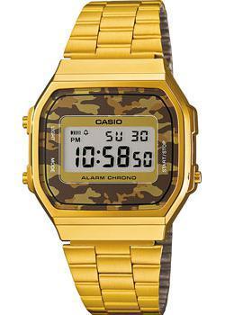 Casio Часы Casio A-168WEGC-5E. Коллекция Digital casio часы casio f 105w 1a коллекция digital