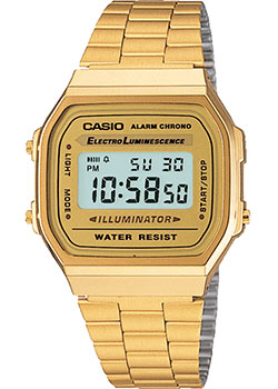Часы Casio Digital A-168WG-9