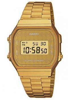 Casio Часы Casio A-168WG-9B. Коллекция Digital casio часы casio bga 180 9b коллекция baby g