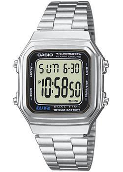 Casio Часы Casio A-178WA-1. Коллекция Digital casio часы casio a 164wa 1 коллекция digital