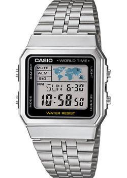 Casio Часы Casio A-500WEA-1E. Коллекция Digital casio часы casio a 164wa 1 коллекция digital