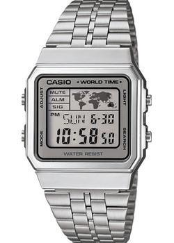 Casio Часы Casio A-500WEA-7E. Коллекция Digital casio casio prw 3000t 7e
