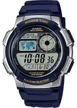 Casio Часы Casio AE-1000W-2A. Коллекция Digital casio casio w 756 2a