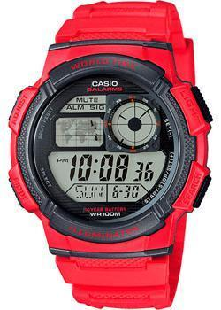 Casio Часы Casio AE-1000W-4A. Коллекция Digital casio часы casio ae 2100w 4a коллекция digital