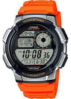 Casio Часы Casio AE-1000W-4B. Коллекция Digital casio ae 1000w 4b