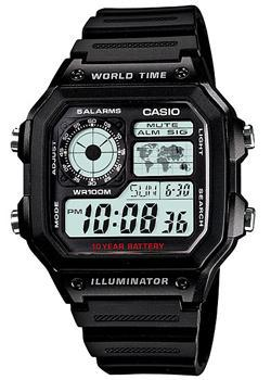 Casio Часы Casio AE-1200WH-1A. Коллекция Digital casio часы casio ae 2000wd 1a коллекция digital
