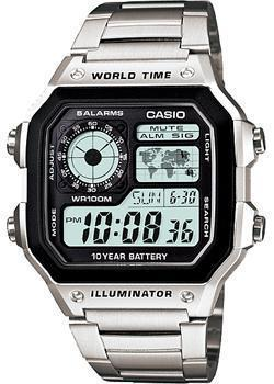 Casio Часы Casio AE-1200WHD-1A. Коллекция Digital casio ae 1200whd 1a