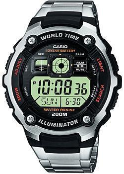 Casio Часы Casio AE-2000WD-1A. Коллекция Digital часы casio collection ae 2000wd 1a black silver