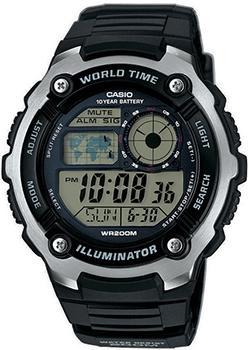 Casio Часы Casio AE-2100W-1A. Коллекция Digital casio ae 1200whd 1a