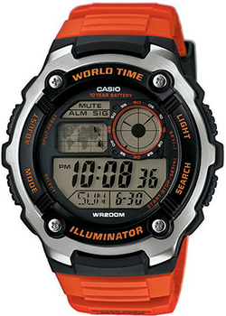 Casio Часы Casio AE-2100W-4A. Коллекция Digital casio часы casio ae 2000wd 1a коллекция digital