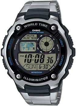 Casio Часы Casio AE-2100WD-1A. Коллекция Digital casio часы casio w 756 1a коллекция digital