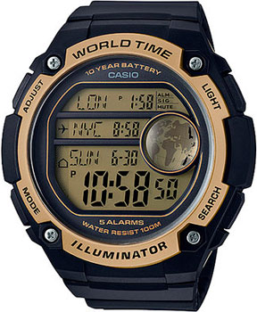Casio Часы Casio AE-3000W-9A. Коллекция Digital casio ae 3000w 9a