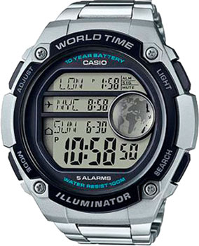 Casio Часы Casio AE-3000WD-1A. Коллекция Digital casio ae 1000wd 1a