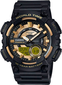 Casio Часы Casio AEQ-110BW-9A. Коллекция Ana-Digi все цены