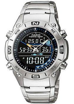 лучшая цена Casio Часы Casio AMW-703D-1A. Коллекция Ana-Digi