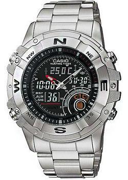 купить Casio Часы Casio AMW-705D-1A. Коллекция Ana-Digi онлайн