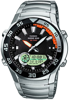 купить Casio Часы Casio AMW-710D-1A. Коллекция Ana-Digi онлайн