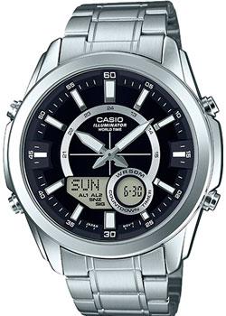 Casio Часы Casio AMW-810D-1A. Коллекция Ana-Digi casio amw 810d 2a