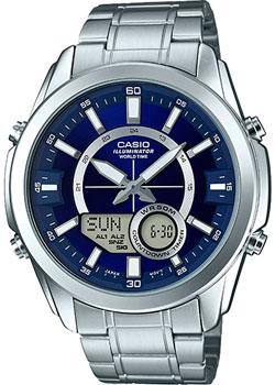 Casio Часы Casio AMW-810D-2A. Коллекция Ana-Digi casio amw 810d 2a