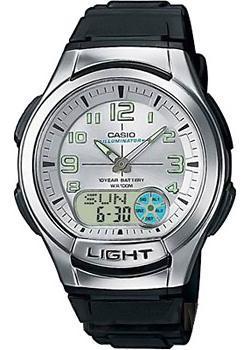 Casio Часы Casio AQ-180W-7B. Коллекция Ana-Digi чехлы для телефонов norton чехол книжка norton универсальный 4 3 4 7 с выдвижным механизмом