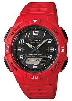 Casio Часы Casio AQ-S800W-4B. Коллекция Ana-Digi casio casio aq s800w 1e