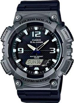 Casio Часы Casio AQ-S810W-1A4. Коллекция Ana-Digi casio aq s810w 2a2