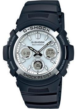 Casio Часы Casio AWG-M100S-7A. Коллекция G-Shock наручные часы casio g shock awg m100s 7a