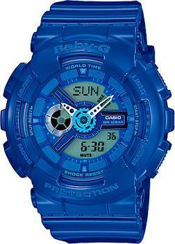 Casio Часы Casio BA-110BC-2A. Коллекция Baby-G casio часы casio bga 180 9b коллекция baby g