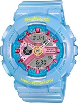 Casio Часы Casio BA-110CA-2A. Коллекция Baby-G часы наручные casio часы baby g ba 110 4a1