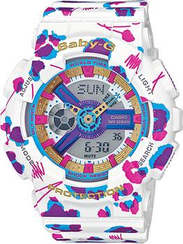 Casio Часы Casio BA-110FL-7A. Коллекция Baby-G часы наручные casio часы baby g ba 110fl 7a