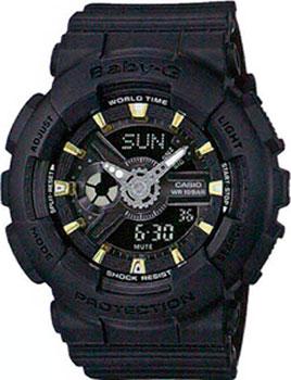 Casio Часы Casio BA-110GA-1A. Коллекция Baby-G часы наручные casio часы baby g ba 120spl 1a