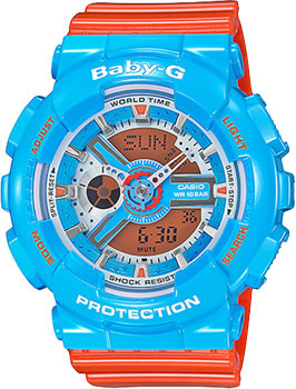 Casio Часы Casio BA-110NC-2A. Коллекция Baby-G часы женские casio g shock baby g ba 120 7b white