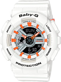 Casio Часы Casio BA-110PP-7A2. Коллекция Baby-G casio ba 110ga 7a2