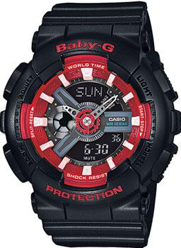 Casio Часы Casio BA-110SN-1A. Коллекция Baby-G casio часы casio bga 180 9b коллекция baby g