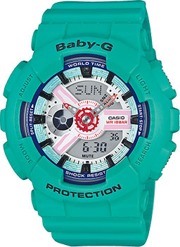 Casio Часы Casio BA-110SN-3A. Коллекция Baby-G passages level 1 class audio cds аудиокурс на 3 cd