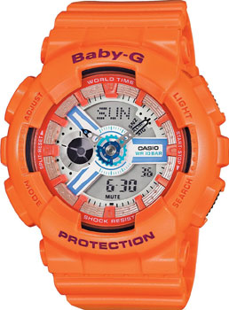 Casio Часы Casio BA-110SN-4A. Коллекция Baby-G футболка wearcraft premium slim fit printio фк рубин казань
