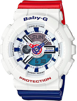 Casio Часы Casio BA-110TR-7A. Коллекция Baby-G casio ba 110be 7a