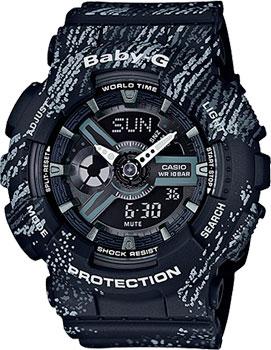 Casio Часы Casio BA-110TX-1A. Коллекция Baby-G наручные часы casio baby g ba 110 1a