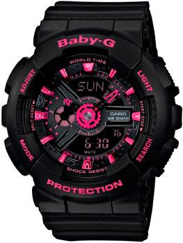 купить Casio Часы Casio BA-111-1A. Коллекция Baby-G по цене 10190 рублей