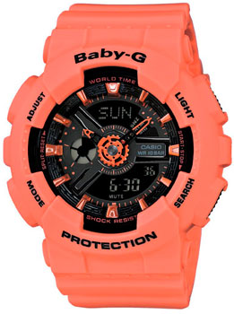 Casio Часы Casio BA-111-4A2. Коллекция Baby-G casio ba 111 3a