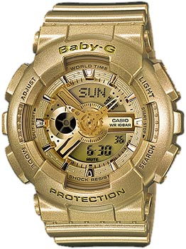 Casio Часы Casio BA-111-9A. Коллекция Baby-G часы наручные casio часы baby g ba 111 1a