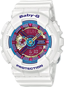 Casio Часы Casio BA-112-7A. Коллекция Baby-G casio ba 110be 7a