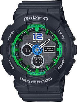 Casio Часы Casio BA-120-1B. Коллекция Baby-G часы женские casio g shock baby g ba 120 7b white