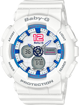 Casio Часы Casio BA-120-7B. Коллекция Baby-G часы женские casio g shock baby g ba 120 7b white
